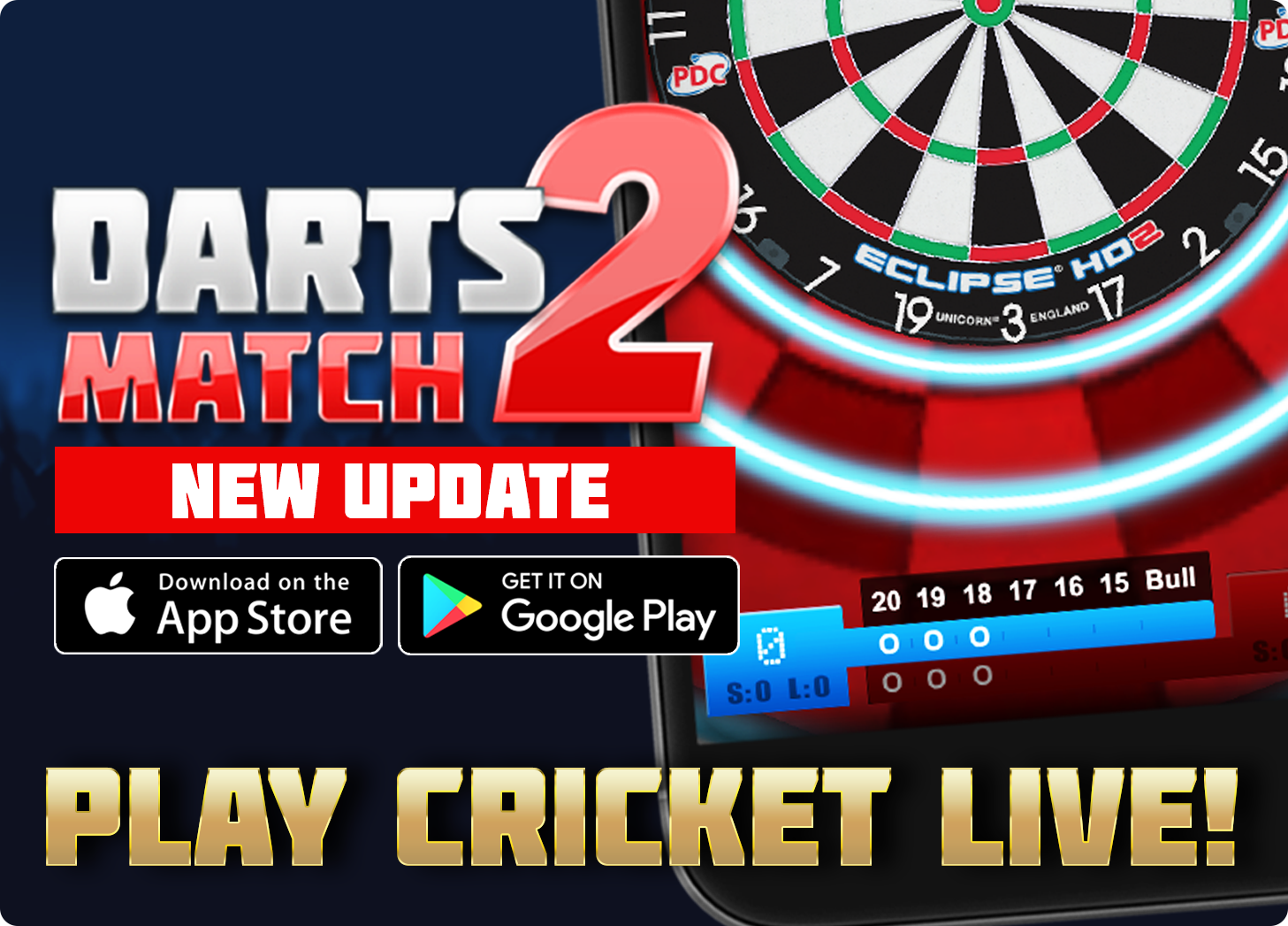 Darts Match 2 The Sequel To The Million Downloaded Darts