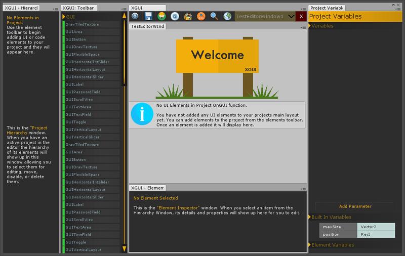 Assets - XGUI - UI WYSIWYG, Visual Coding and Code generation