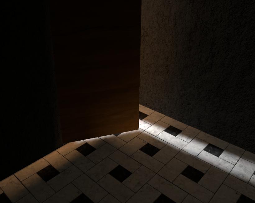 Lighting Dark Rooms Through Open Doors Unity Forum
