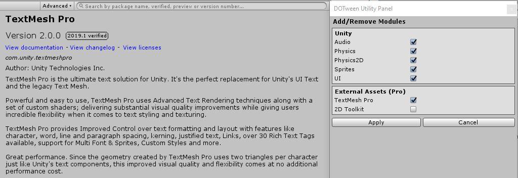DOTween (HOTween v2), a Unity tween engine | Page 62 - Unity Forum
