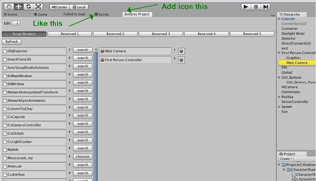 How to add the icon in EditorWindow tab ? - Unity Forum