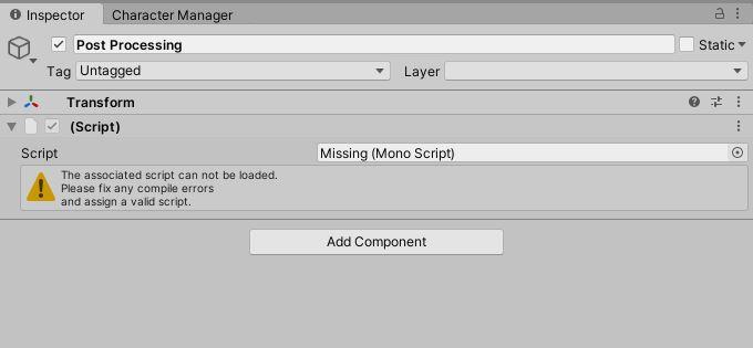 Enviro Missing Script on Post Processing.JPG