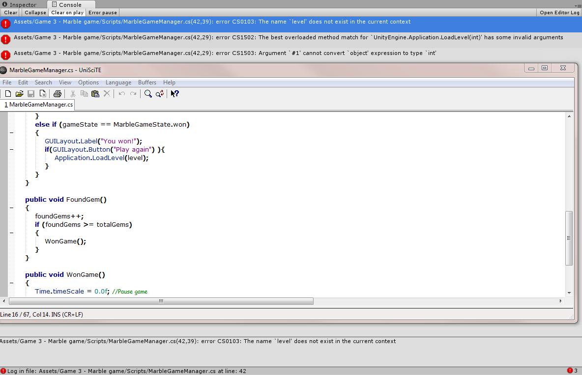How to Switch Scenes In C# - Unity Forum