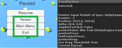 UI Button doesn't highlight as expected - Unity Forum