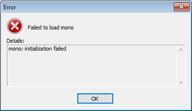 Failed To Load Mono On Really Old Builds - Unity Forum