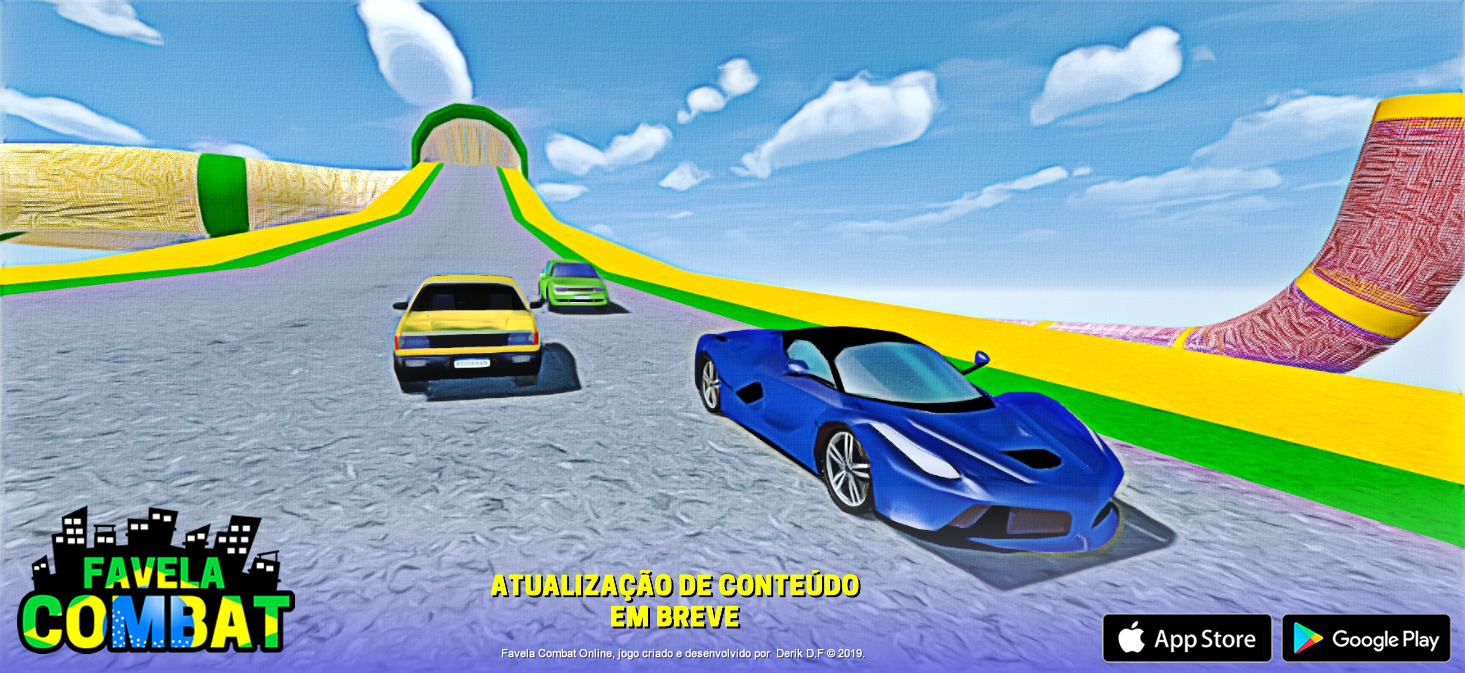 [Projeto em Andamento] Favela Combat - Multiplayer online (Android & iOS) Favela-combat-corridas-jpg