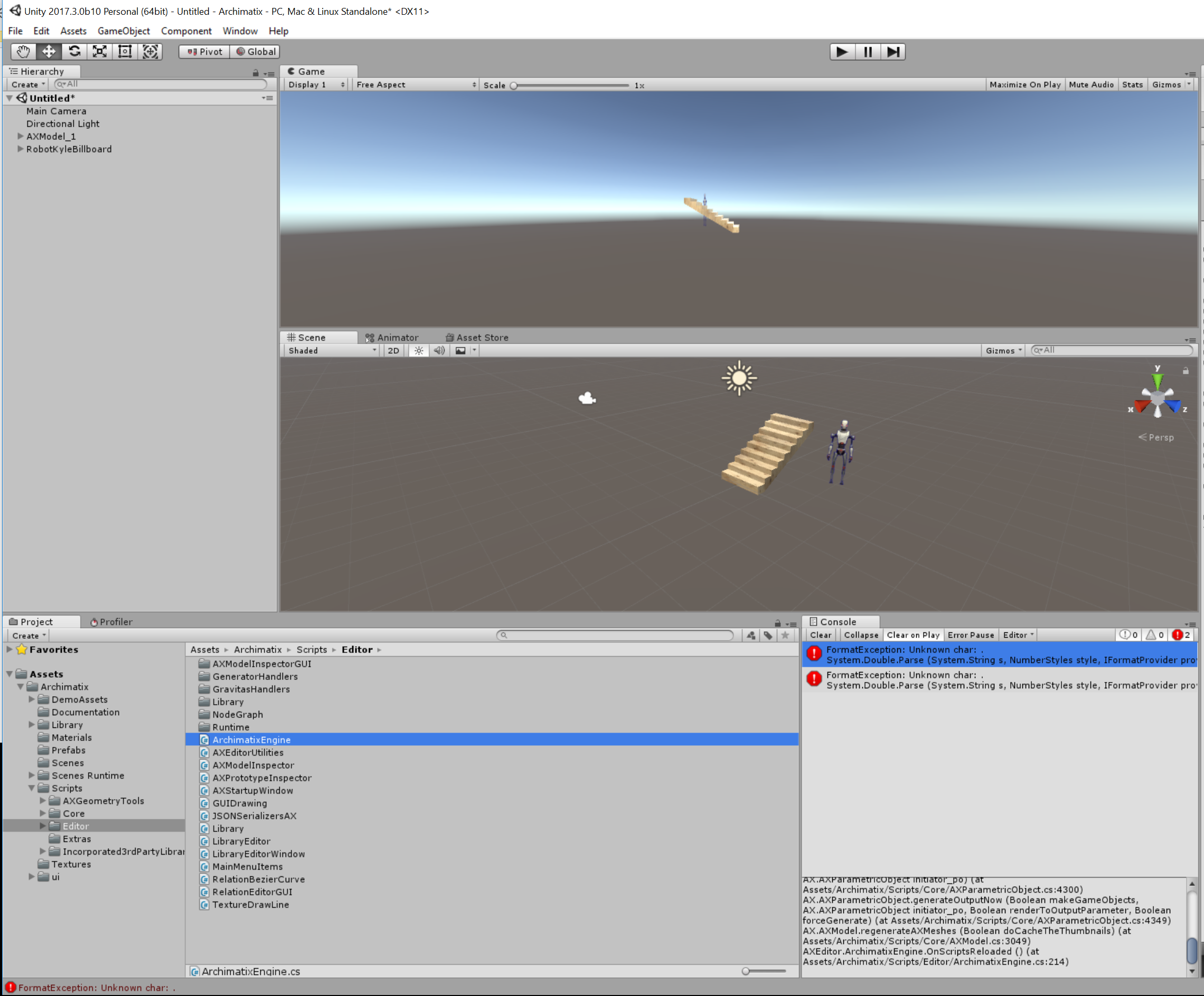 ARCHIMATIX PRO Node-based Parametric Modeling for Unity