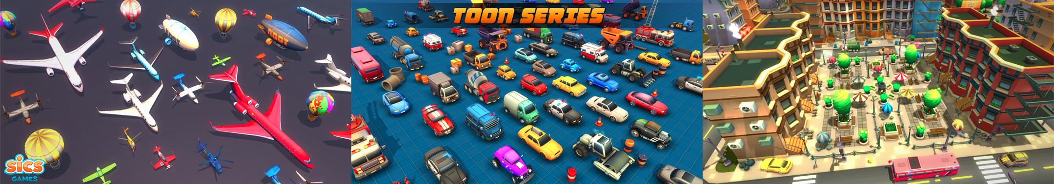 Toon Series [growing content