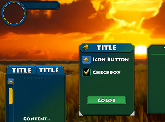 Colorable Fantasy UI for Unity GUI and NGUI - $5 - Unity Forum