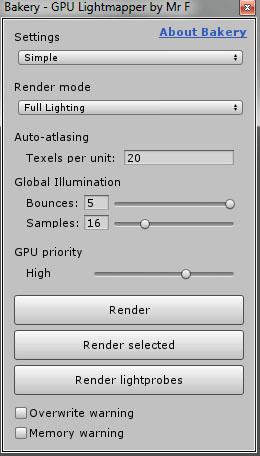 Bakery - GPU Lightmapper (v1 6) [RELEASED] - Unity Forum