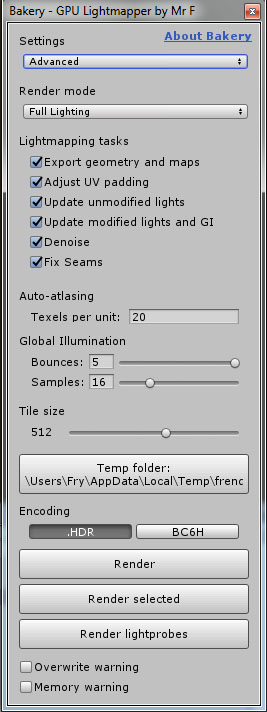 Bakery - GPU Lightmapper (v1 6) [RELEASED] - Unity Forum