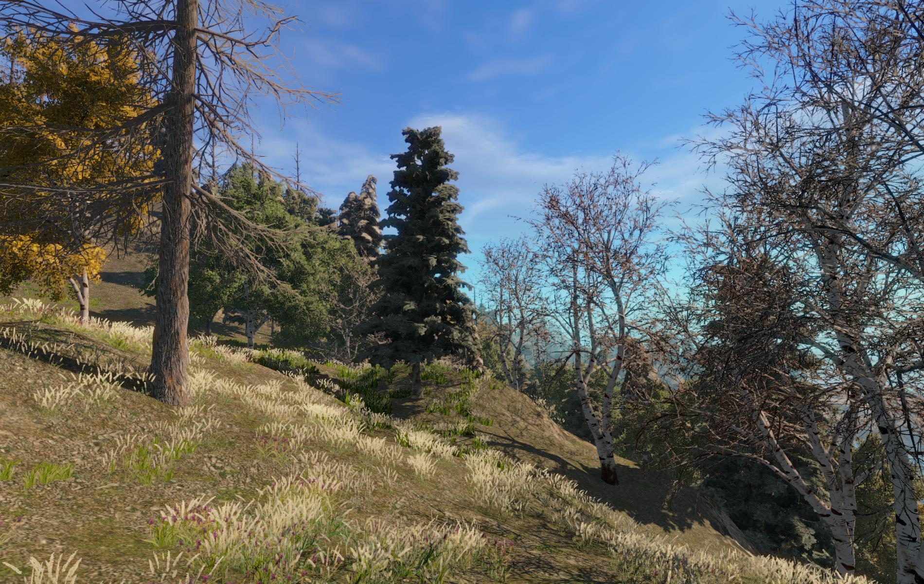 GAIA - AAA terrain generator, procedural texturing, planting and