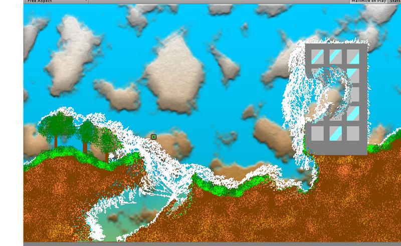 Pixel Destruction - Per pixel 2d destruction with unity