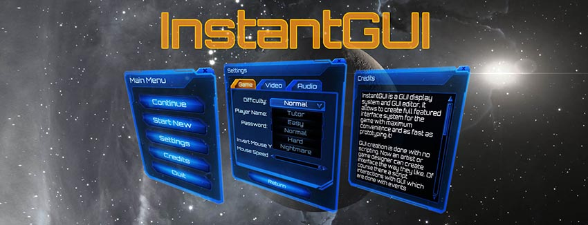 InstantGUI - a GUI display system and GUI editor - Unity Forum