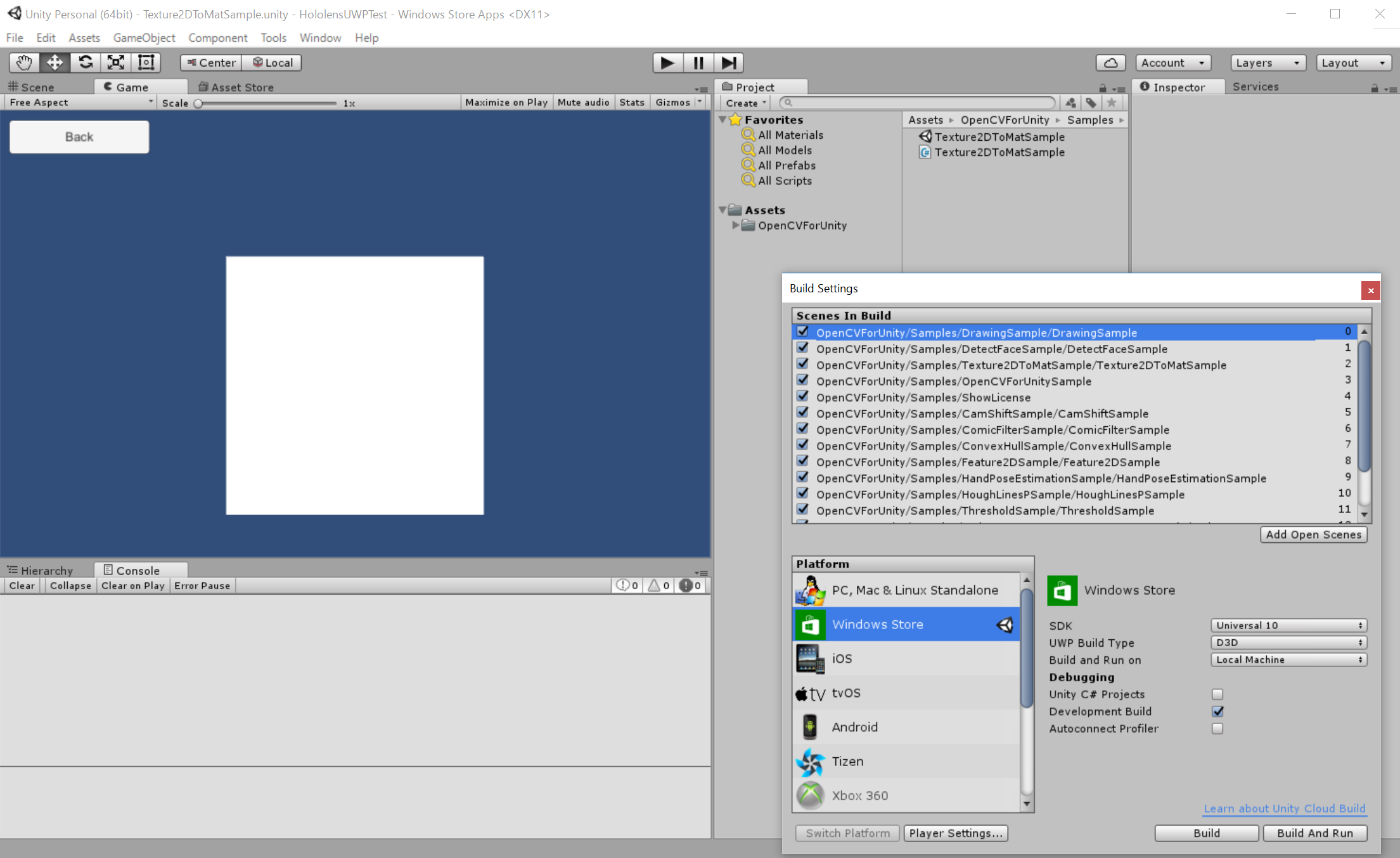 RELEASED] OpenCV for Unity   Page 14 - Unity Forum