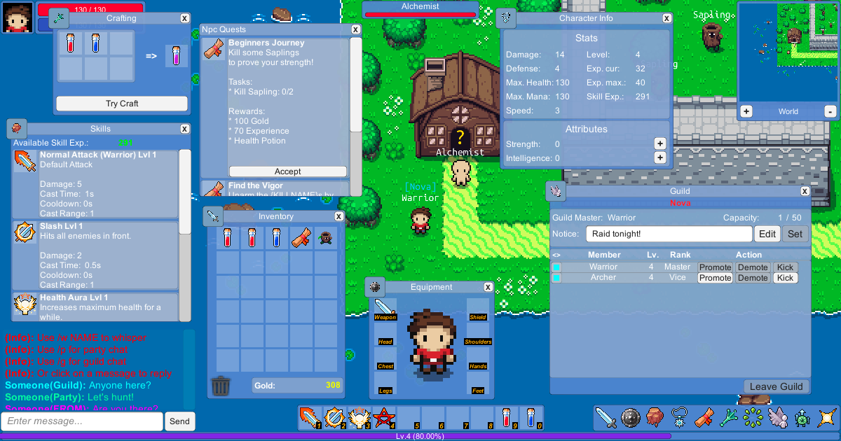 uMMORPG 2D Official Thread - The Unity 2D MMORPG Asset - Unity Forum