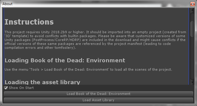 Unity - Book of the Dead: Environment | Page 4 - Unity Forum