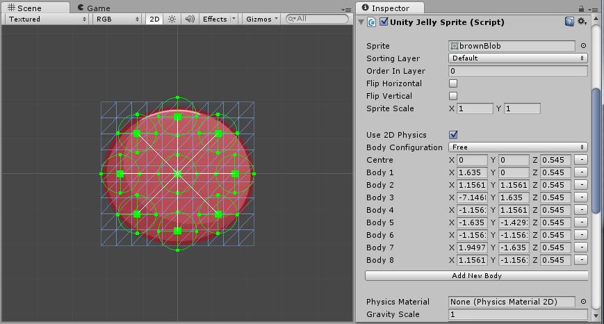 Jelly Sprites - Soft body sprite physics system - Unity Forum