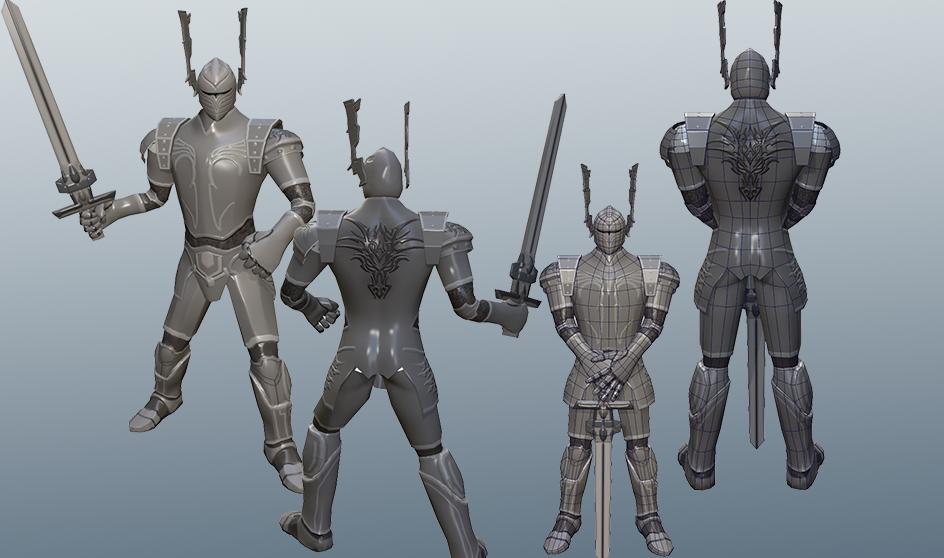 medieval fantasy knight guard unity forum