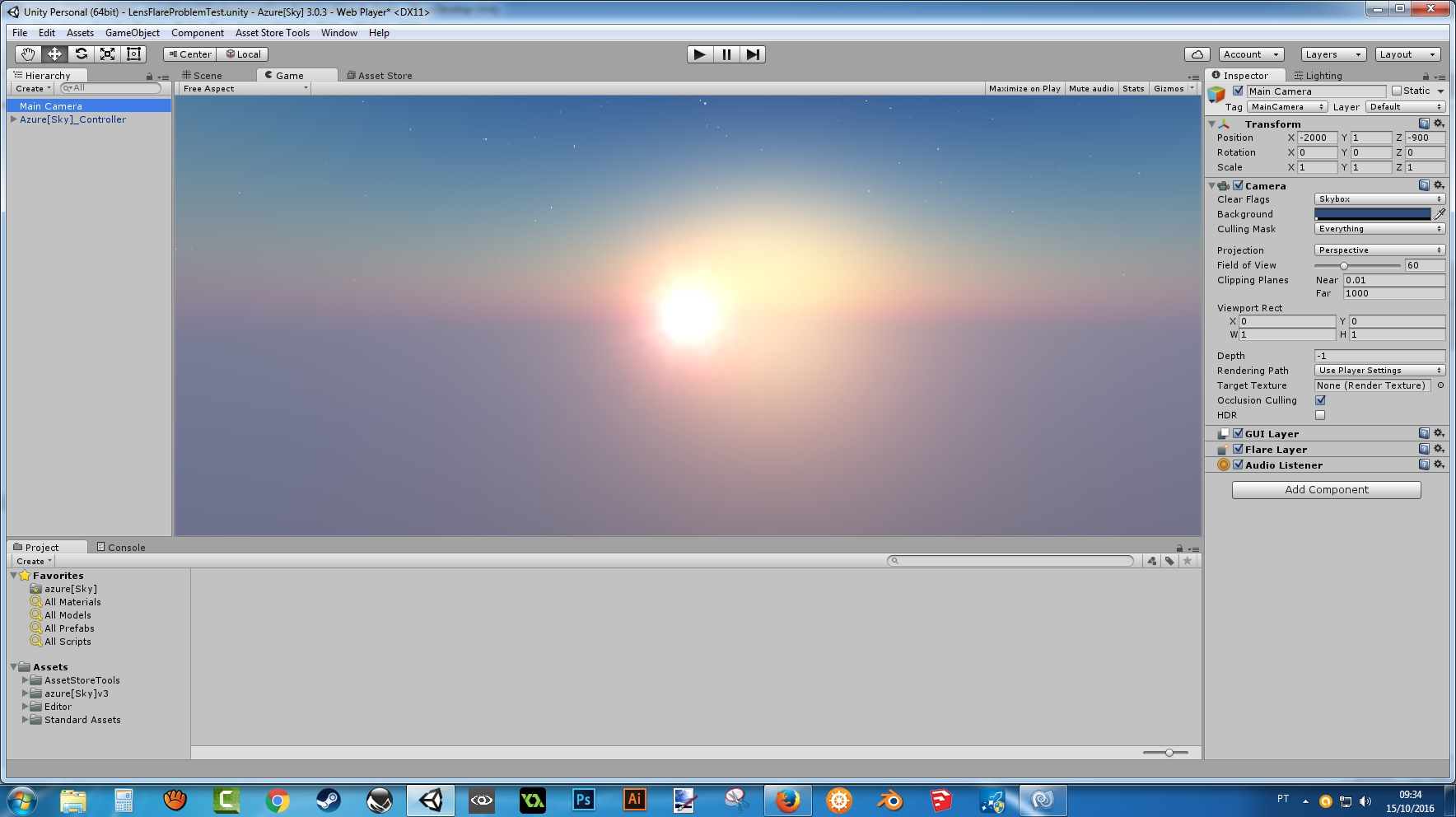 Unity Change Skybox Color Runtime
