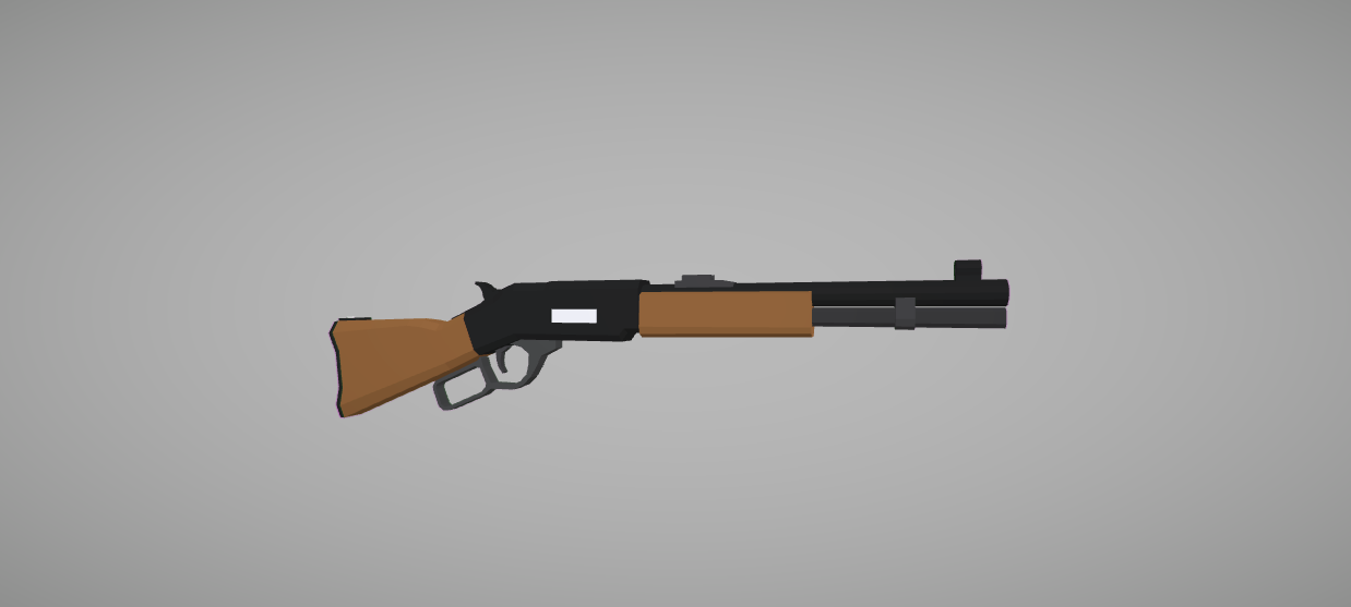 Lever Action Animation : Low poly fps pack v animated arms guns