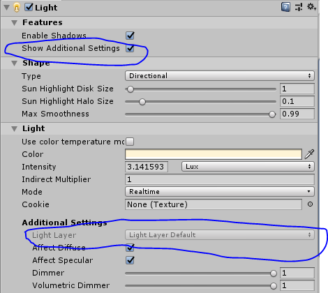 Light layers in HDRP - Unity Forum