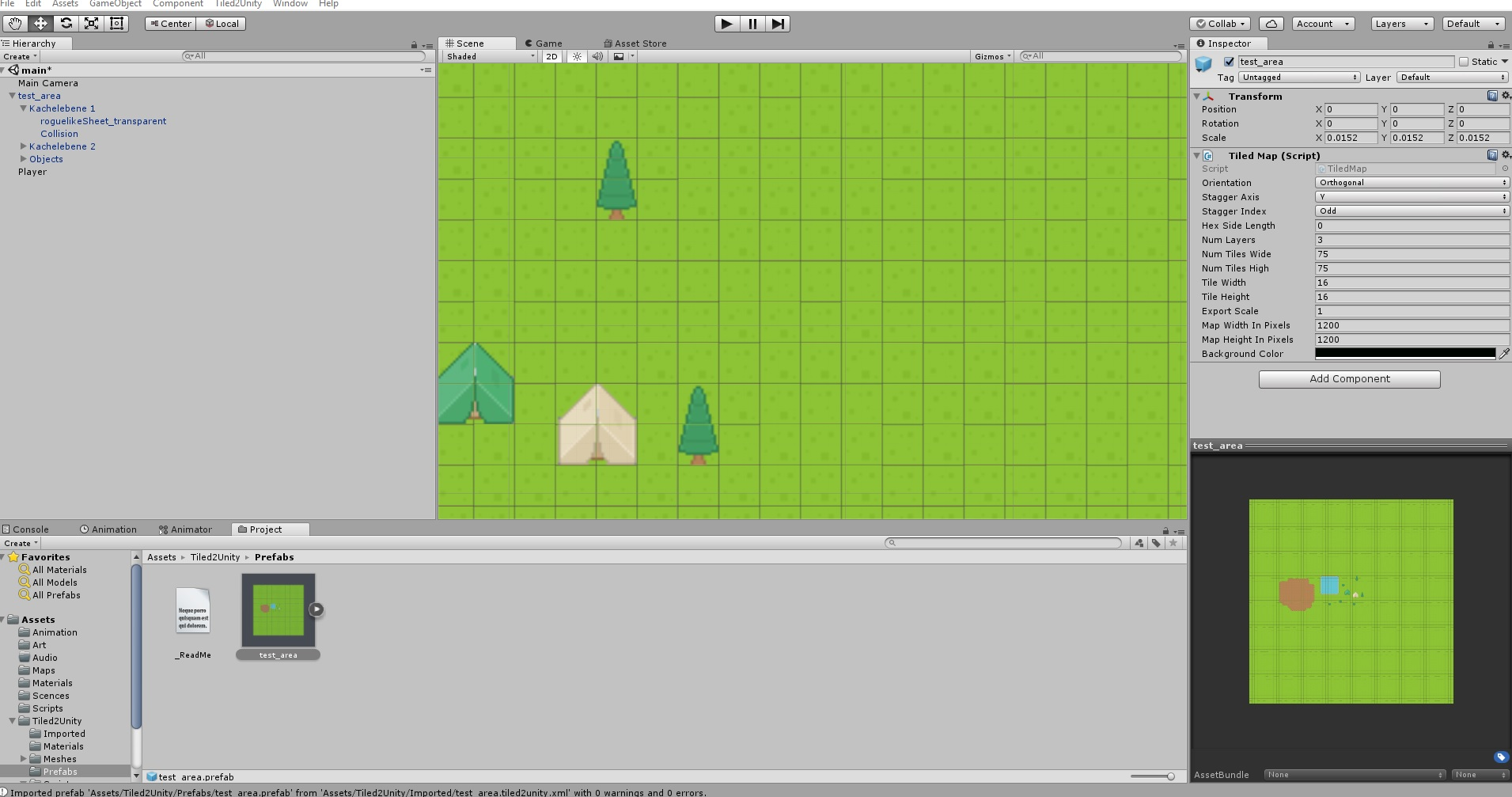 Tiled Map with 1 pixel space between the tiles - Unity Forum