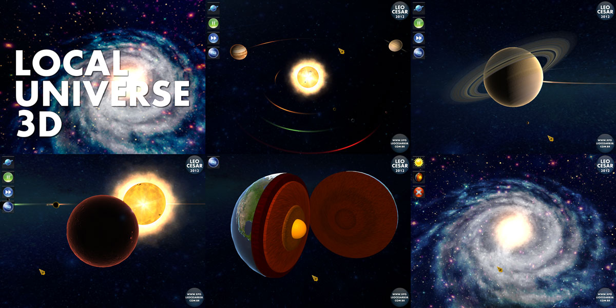 3D Milky Way Planets - Pics about space