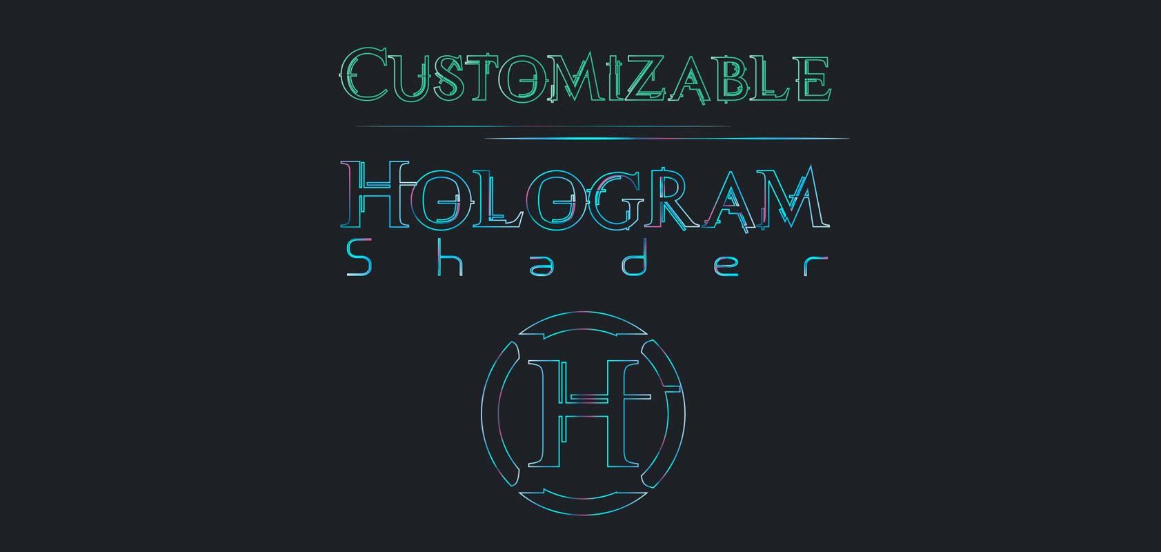 RELEASED] Customizable Hologram Shader - Unity Forum