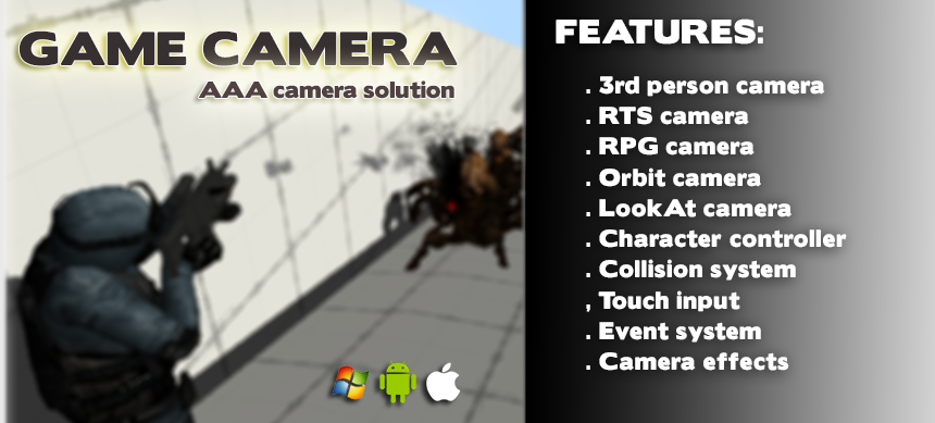 RELEASED] Game Camera: AAA camera solution - Unity Forum