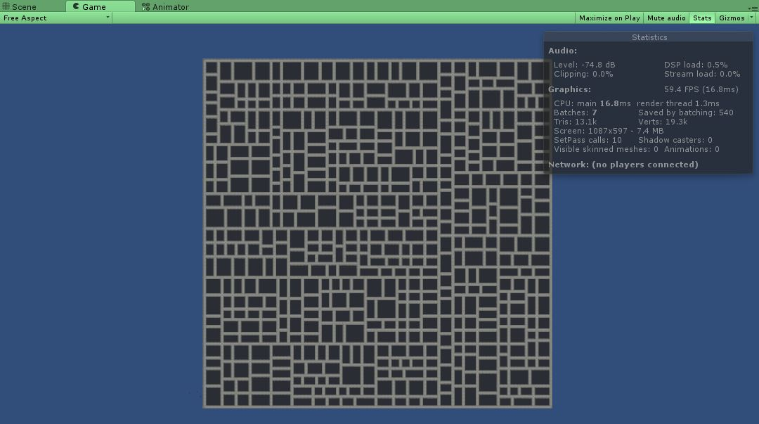 Best practice with 2D tile map and procedural generation