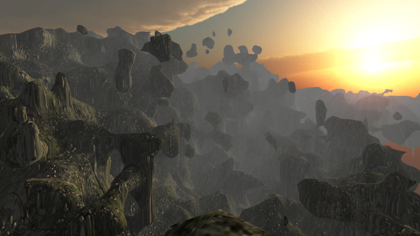 Voxel tools: unreal landscape, shaders, meltable ice, trees - Unity