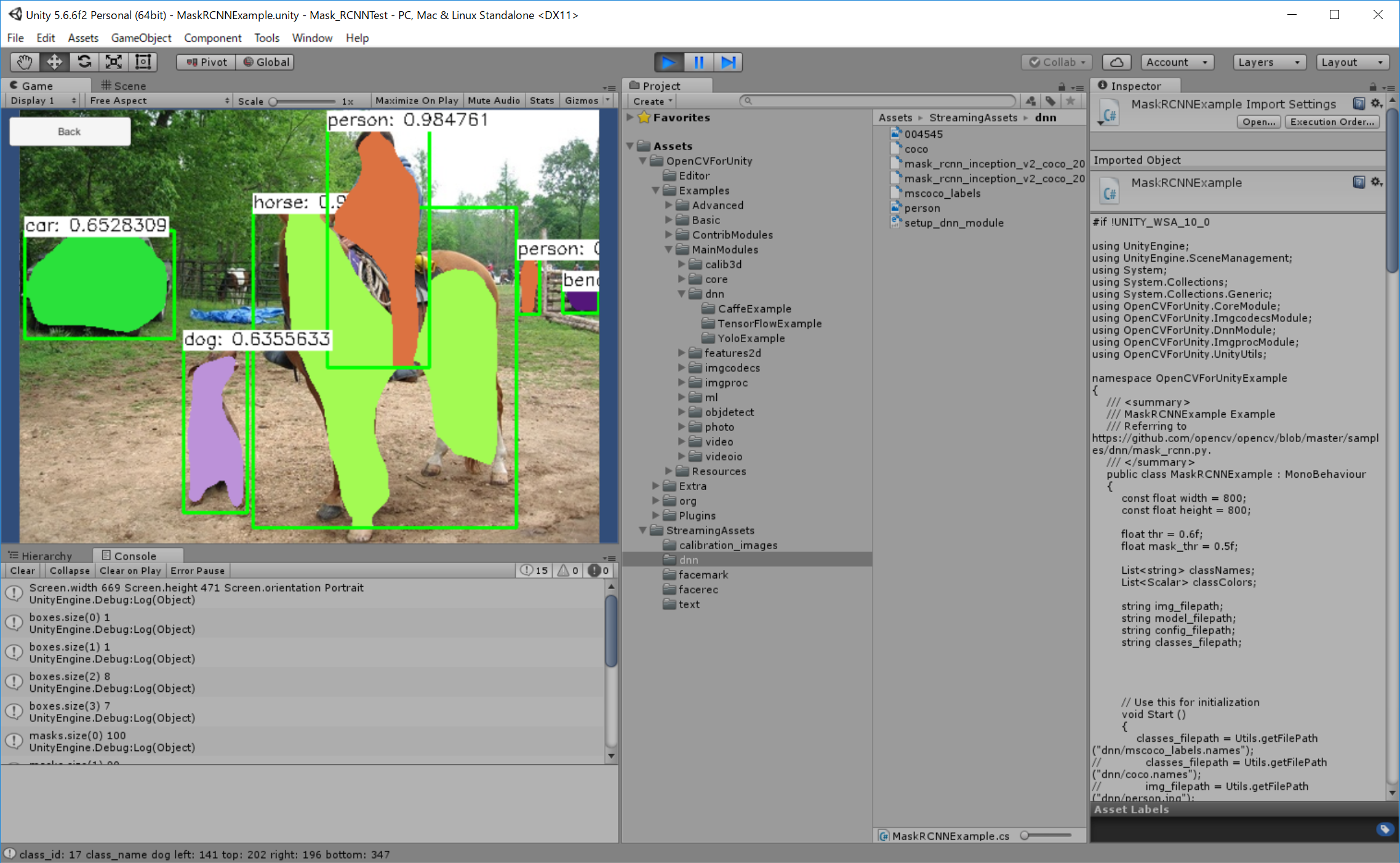 RELEASED] OpenCV for Unity | Page 40 - Unity Forum