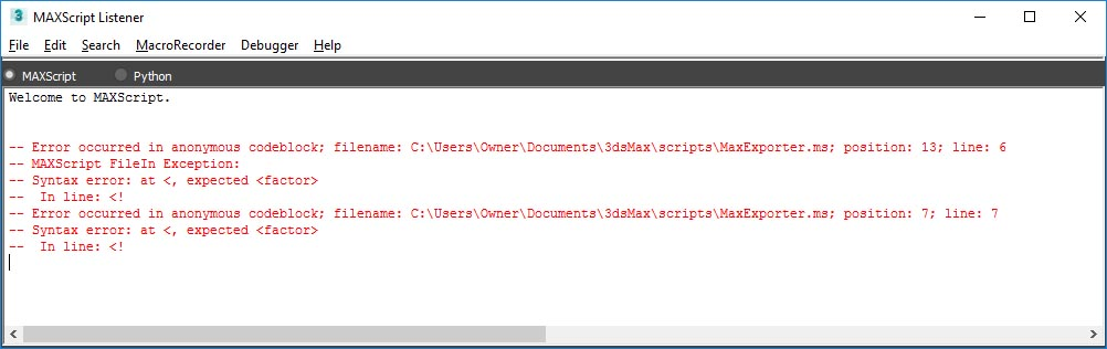 MaxExporter error.jpg