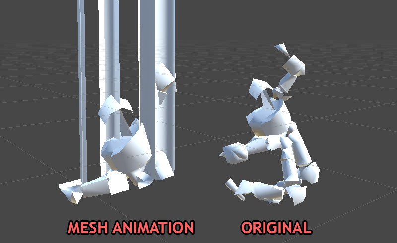 mesh animator   highly efficient animated crowds fully