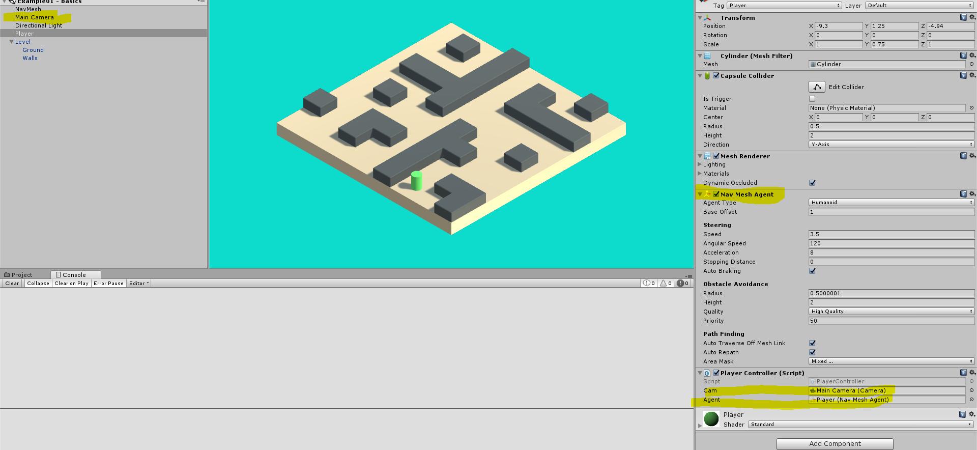 Raycast navigation not working? - Unity Forum