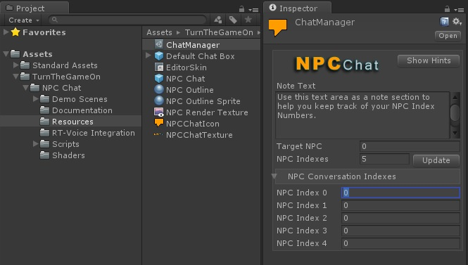 ▻ NPC Chat ◅ Dialogue & Event Trigger System - Unity Forum