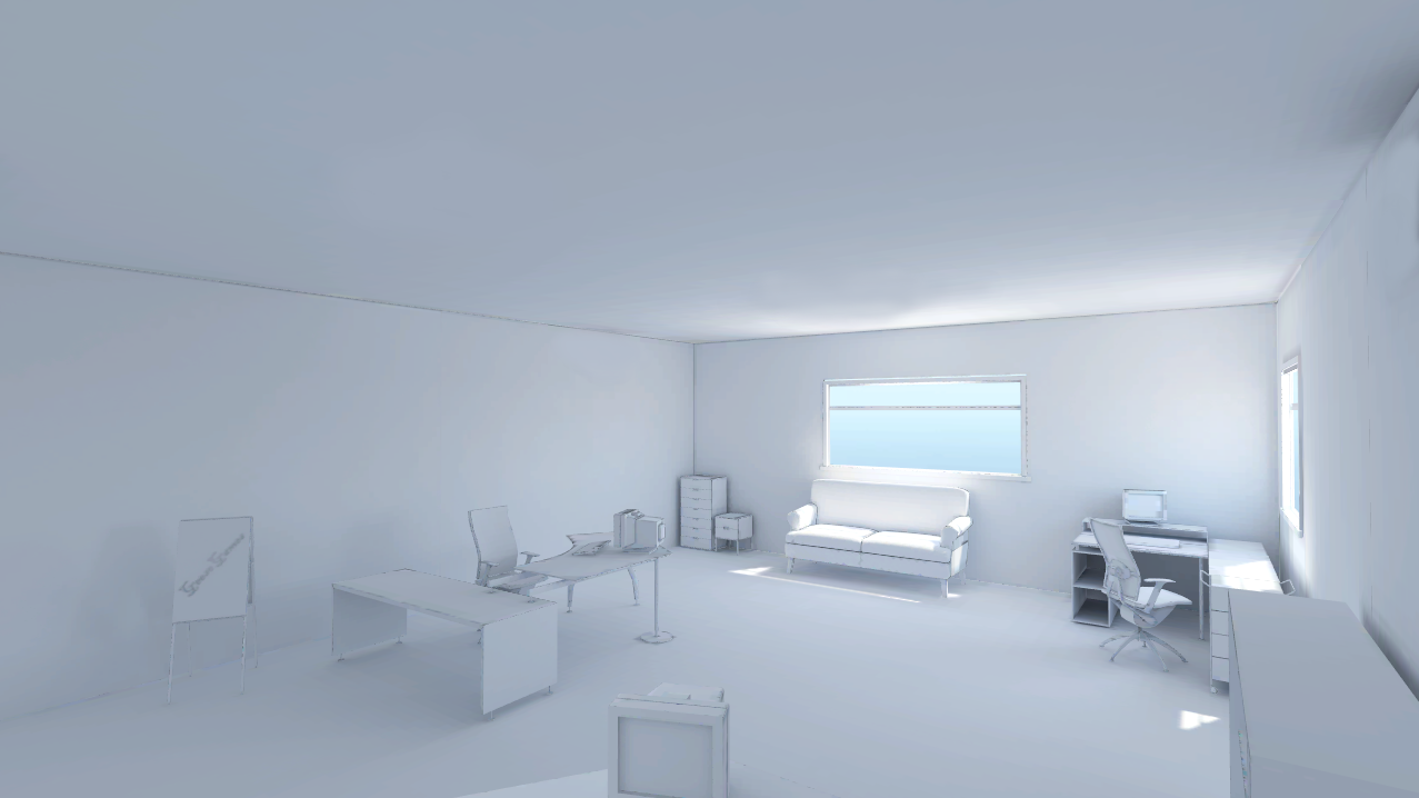 The Screenshot Is From Unity I Used Ds Max To Do All Light Ming It White So Products Stand Out When They Are In With Office