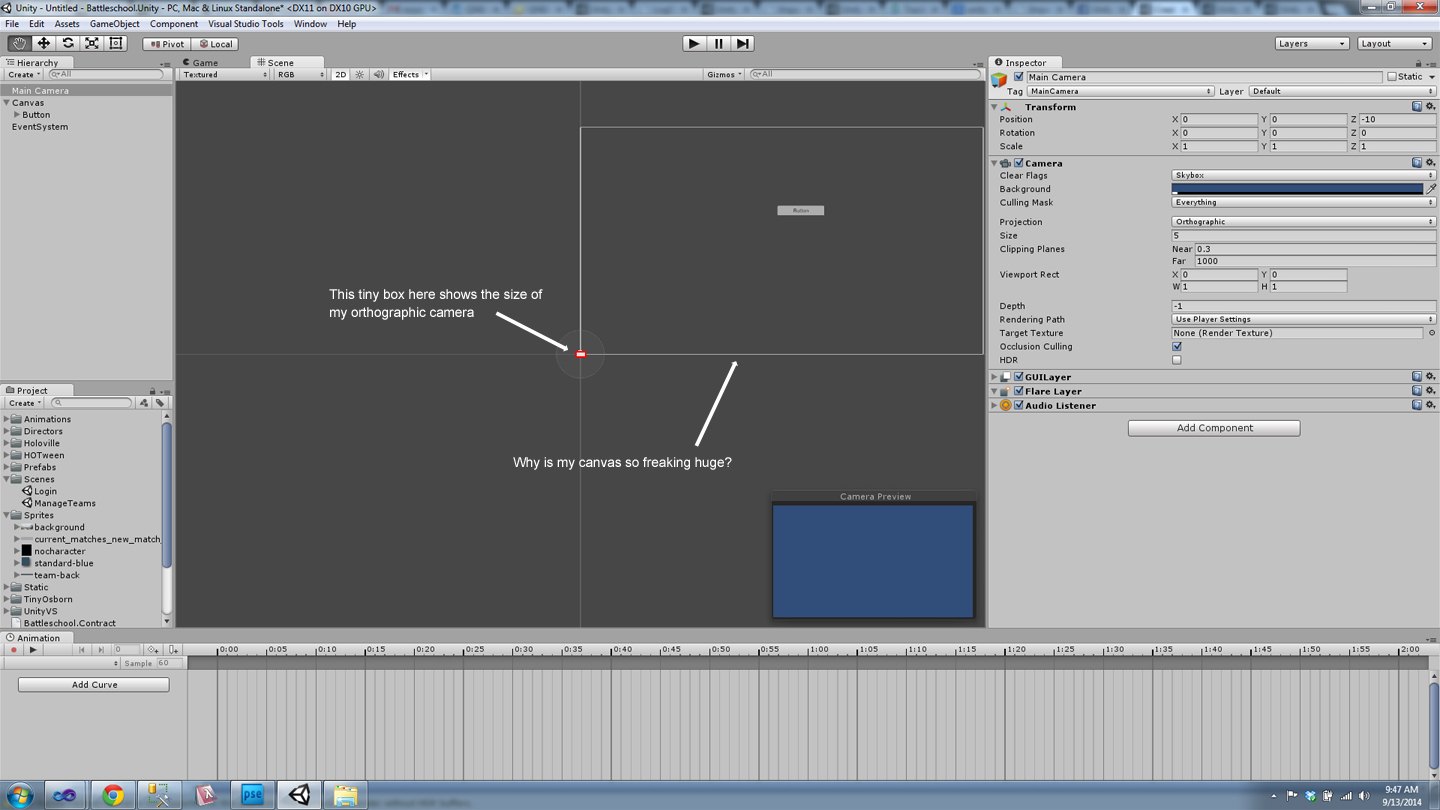 unity3d how to get camera bounds