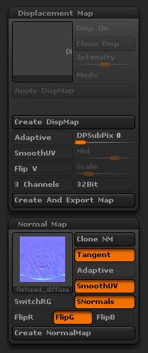 $opcje normal mapow do unity.jpg