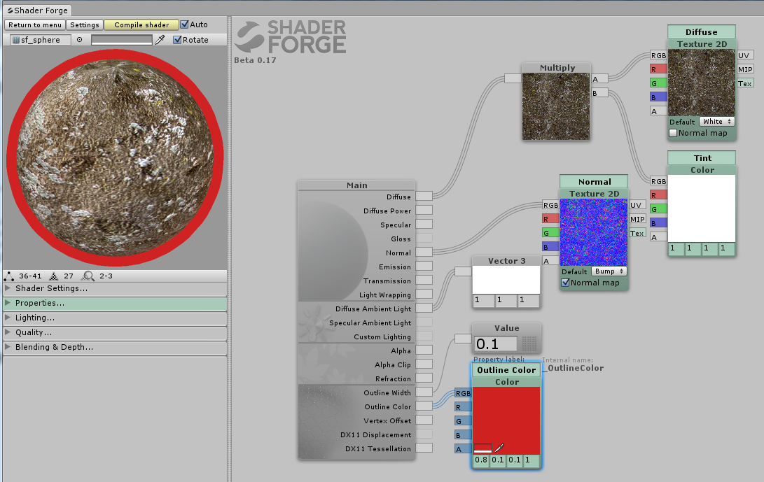 Community Forum • View topic - Outline shader