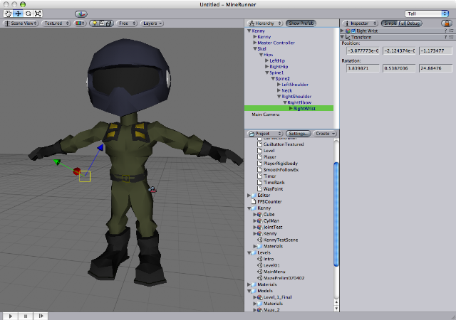 Problems with rig-import from C4D R10 - Unity Forum