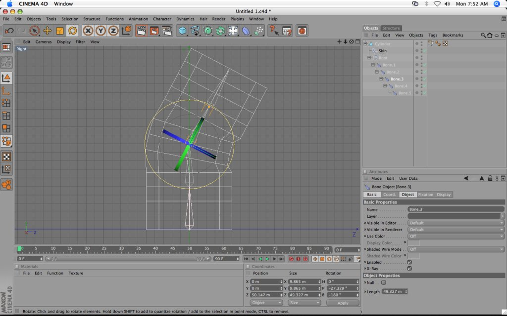 WIP: Rig and skin in C4D 10 for Unity - Unity Forum