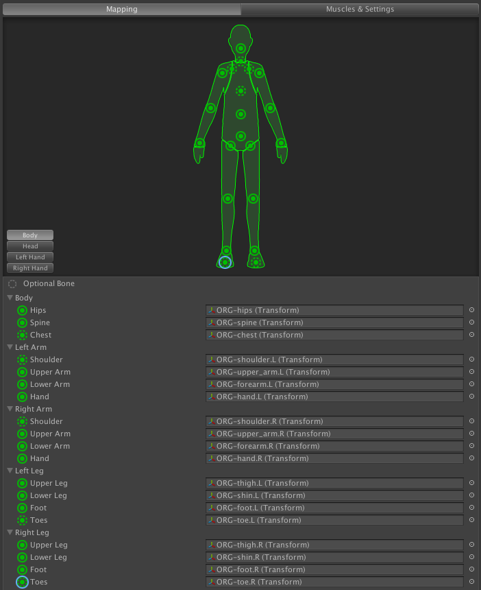Possible pitchipoy rigify blender to unity problem? - Unity