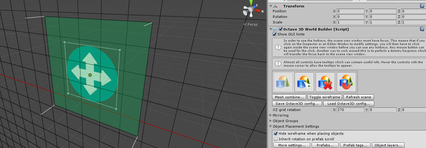 Octave3D-Level Design - Snapping, Prop placement, Multi
