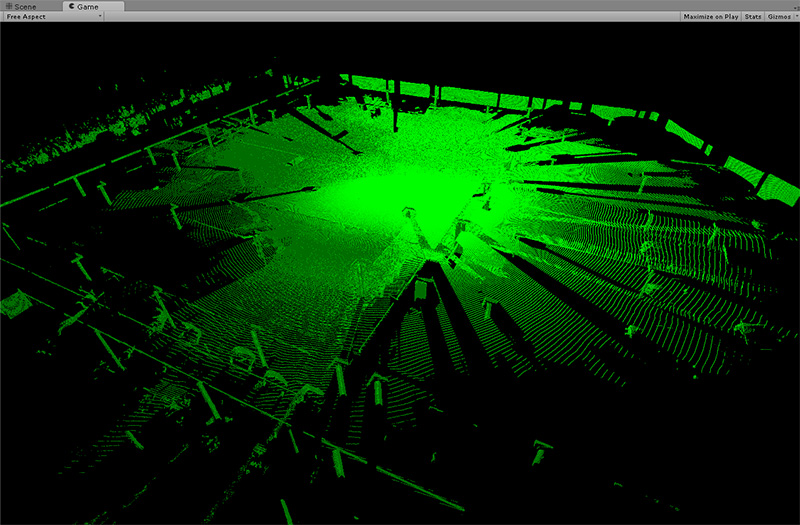 Point cloud viewer android apps