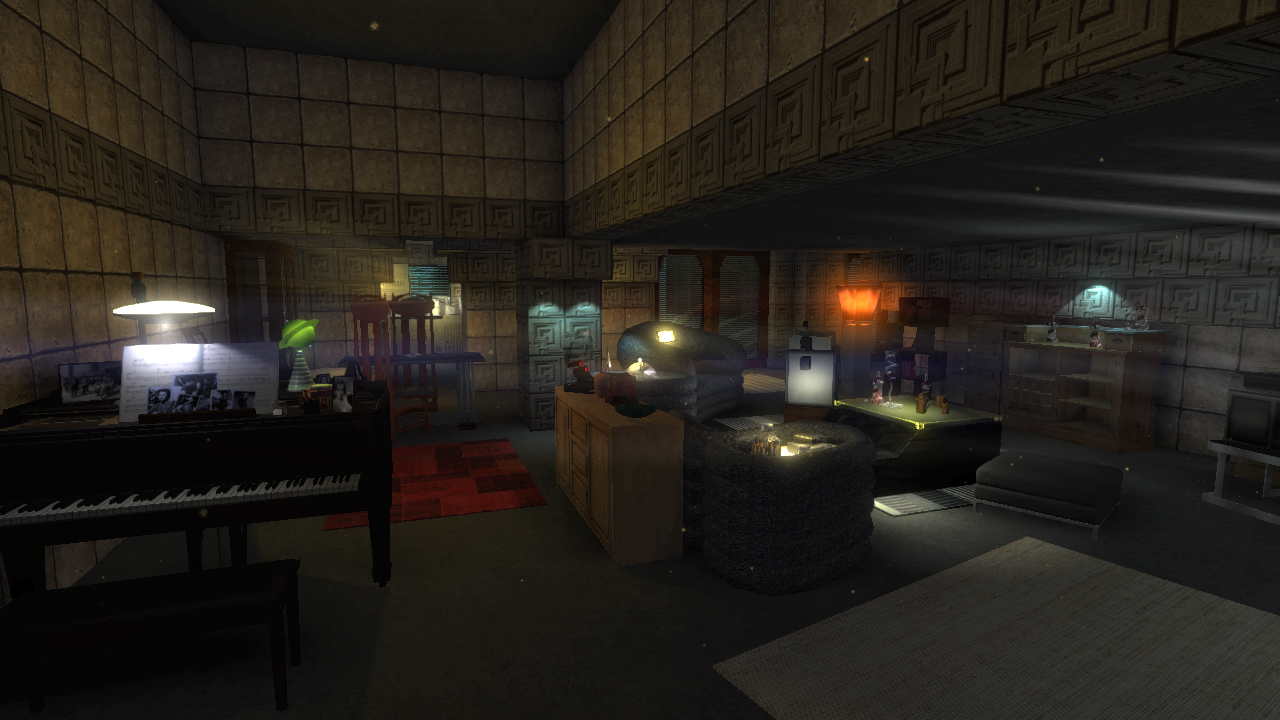 Blade Runner 9732, Deckards Apartment Preview  Unity Forum