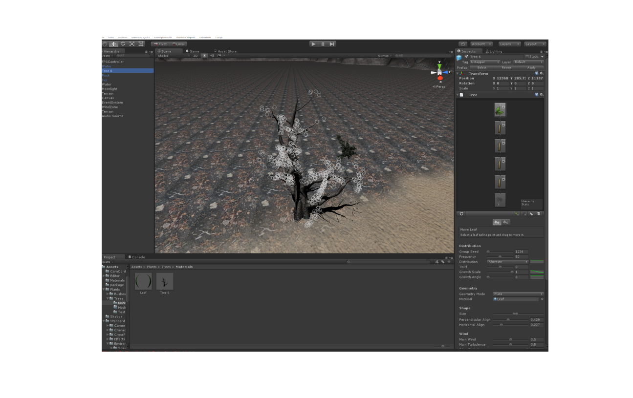 how to make an object apperar and disappear in unity
