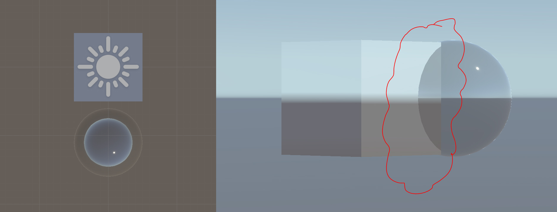 Problem with Transparent HD SRP shader.JPG