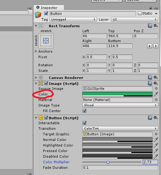 I just want to change the color of a button in c# code - Unity Forum